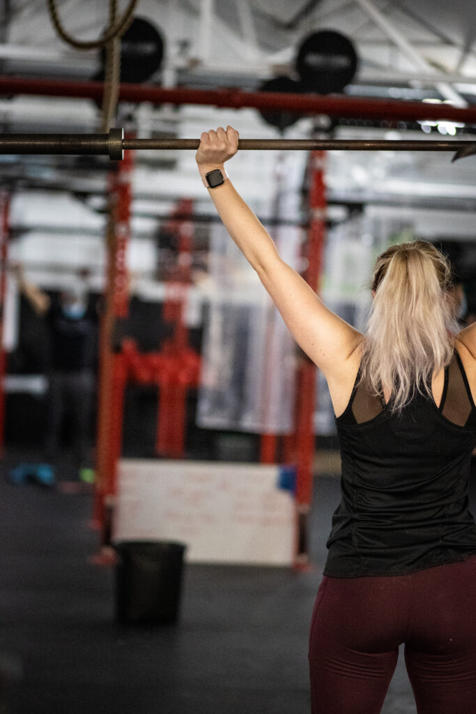 Barbell Thruster Warmup